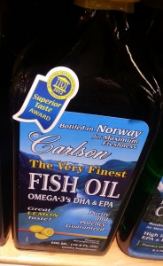Carlson Labs Very Finest Liquid Fish Oil